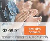 G2 Grid® for Best Robotic Process Automation Software Banner