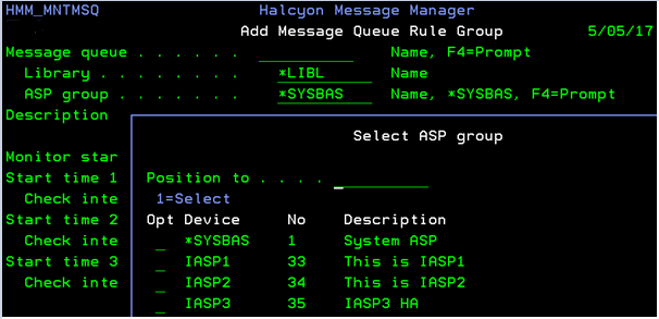 IBM i Server Suites V7 can monitor objects in an IASP.