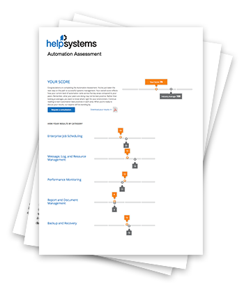 HelpSystems Automation Assessment