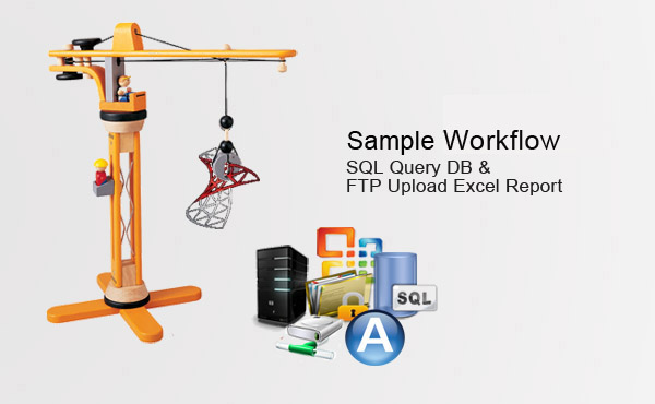 automate SQL sample workflow