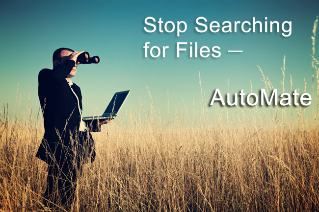 Stop searching for files