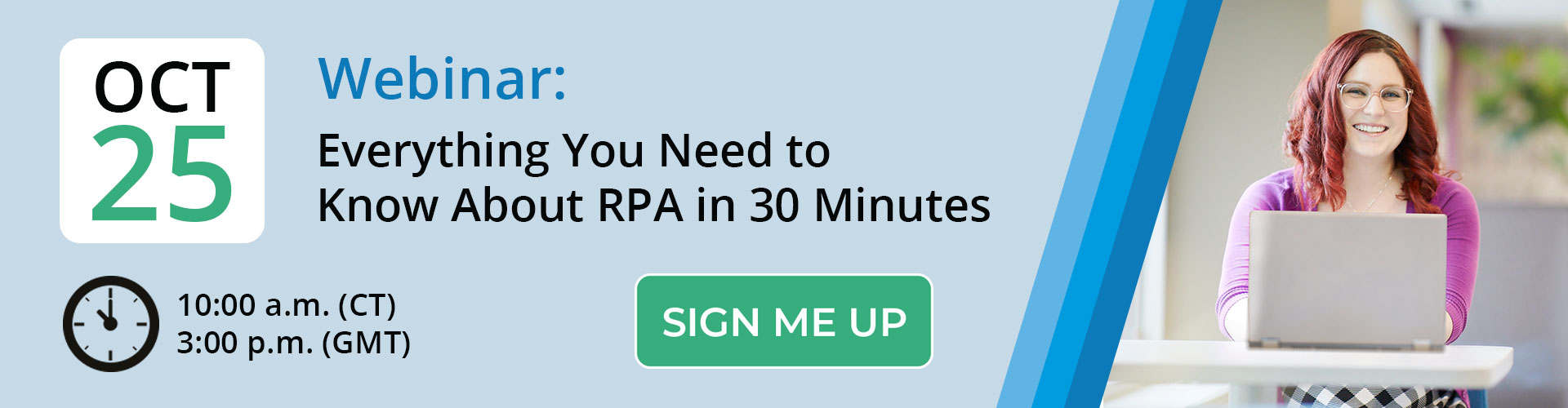 Register for our Robotic Process Automation Webinar!