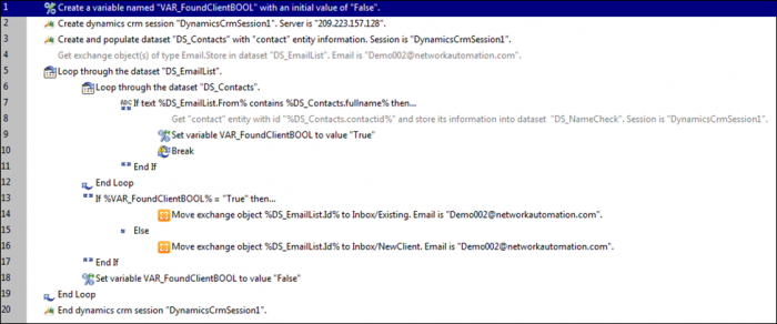 Connect to Dynamics CRM - Email Automation