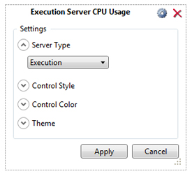 Execution Server Settings