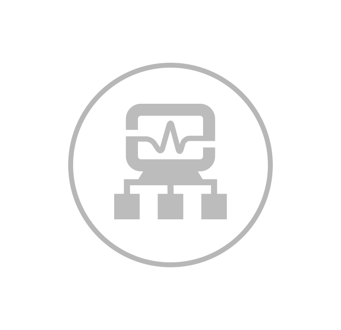 IT Infrastructure Monitoring Icon