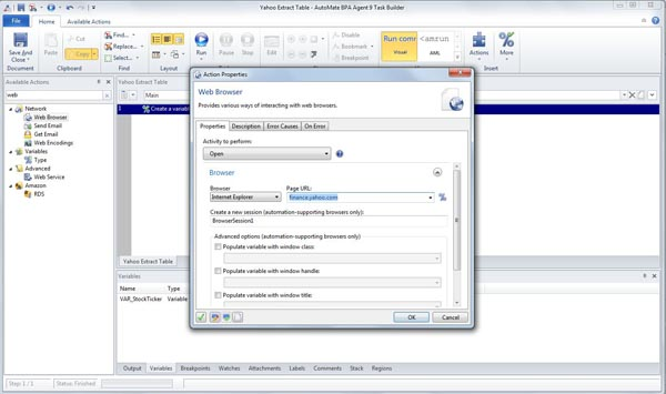 Extract data from yahoo finance to excel