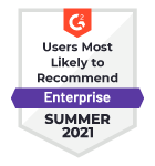 HelpSystems Users Most Likely to Recommend G2