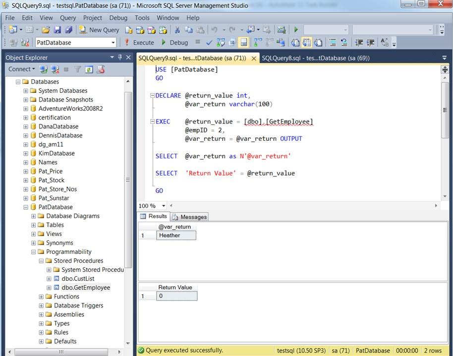 Automating Stored Procedures | HelpSystems