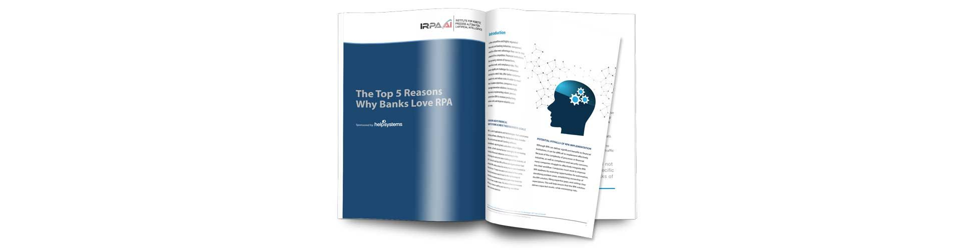 5 Reasons Why Banks Love RPA Guide
