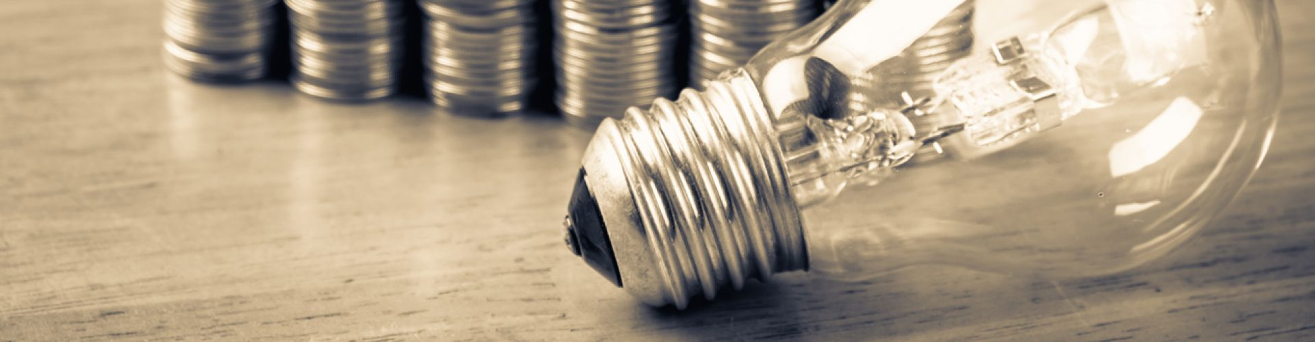 Light bulb showing automation in energy solutions