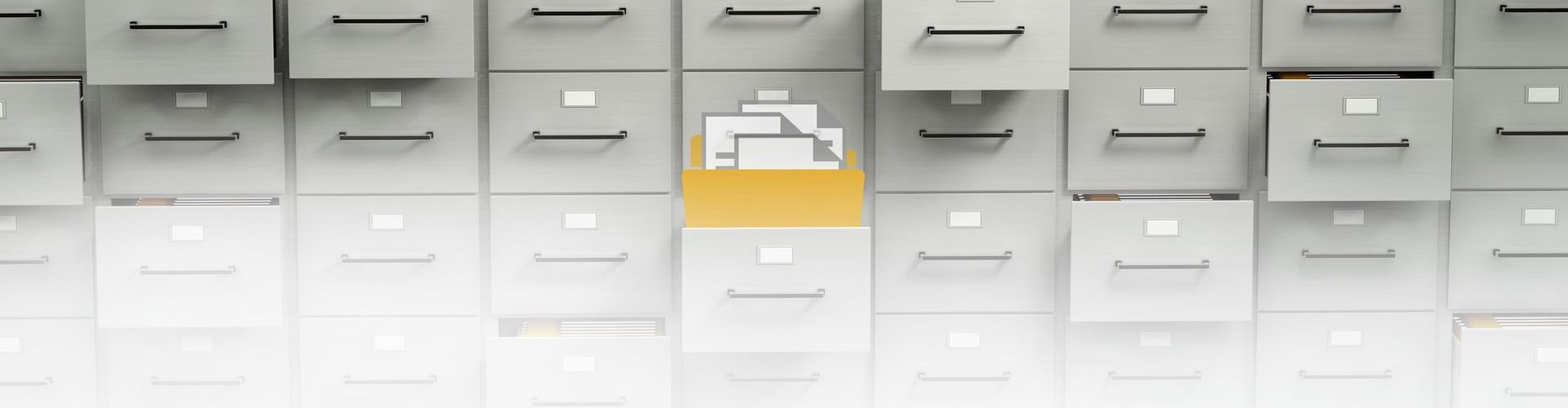 Say goodbye to filing cabinets with document scanning and digital document storage solutions