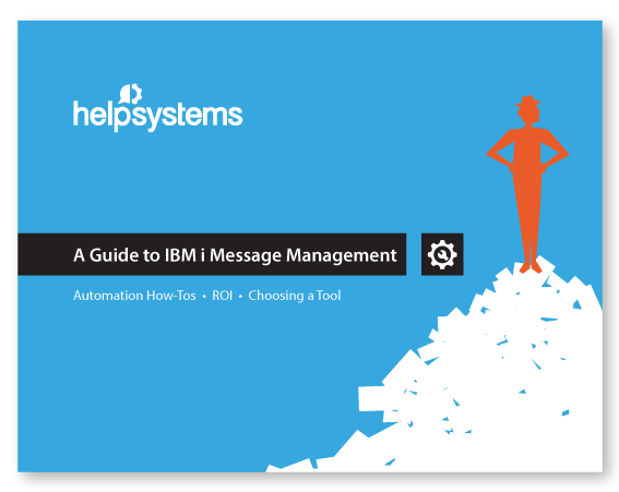 Guide to IBM i Message Management graphic