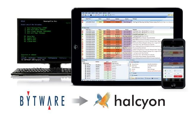 HelpSystems now offers Halcyon IT monitoring and automation software to Bytware Messenger users for enhanced functionality with a seamless transition.