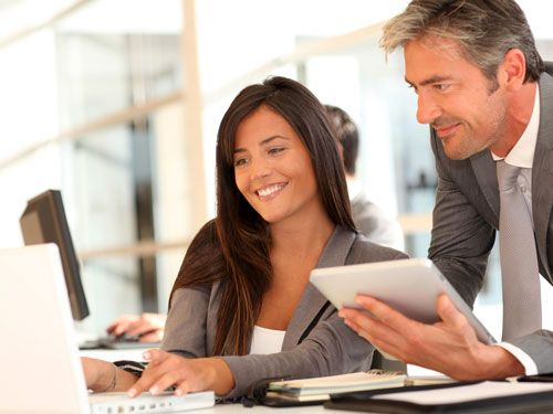 Colleagues save time by automating data entry