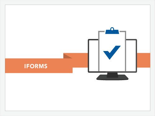 iForms electronic forms software makes creating forms easy