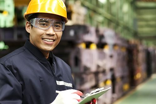 A warehouse manager saves time with document creation and assembly
