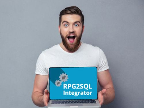 An IT staffer enjoys fast and easy data integration