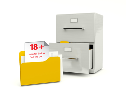Document scanning and digital document storage solutions save time