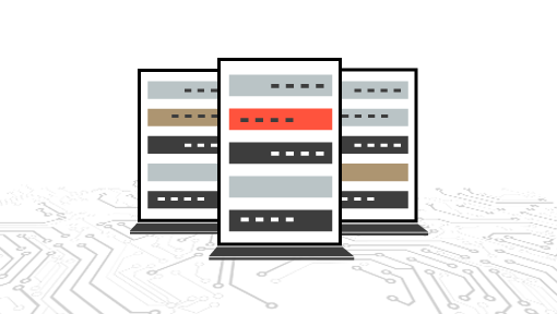 Monitor servers with network performance monitoring tools.