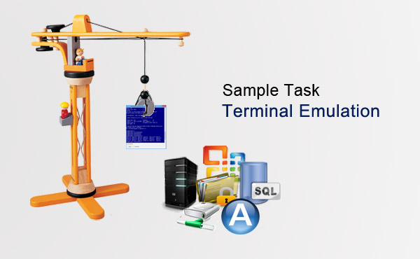 Sample Task Terminal Emulation