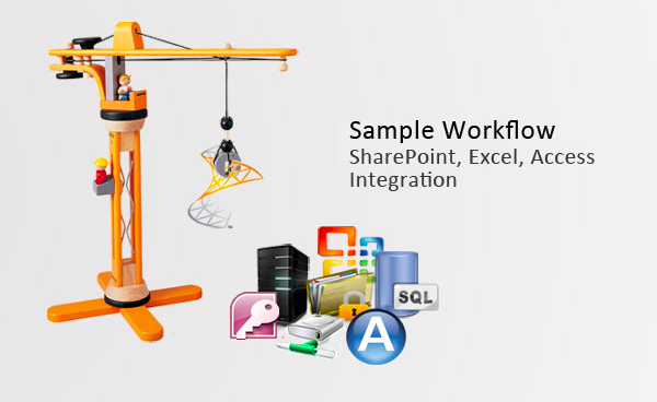 Sample Workflow: SharePoint, Excel, Access Automation