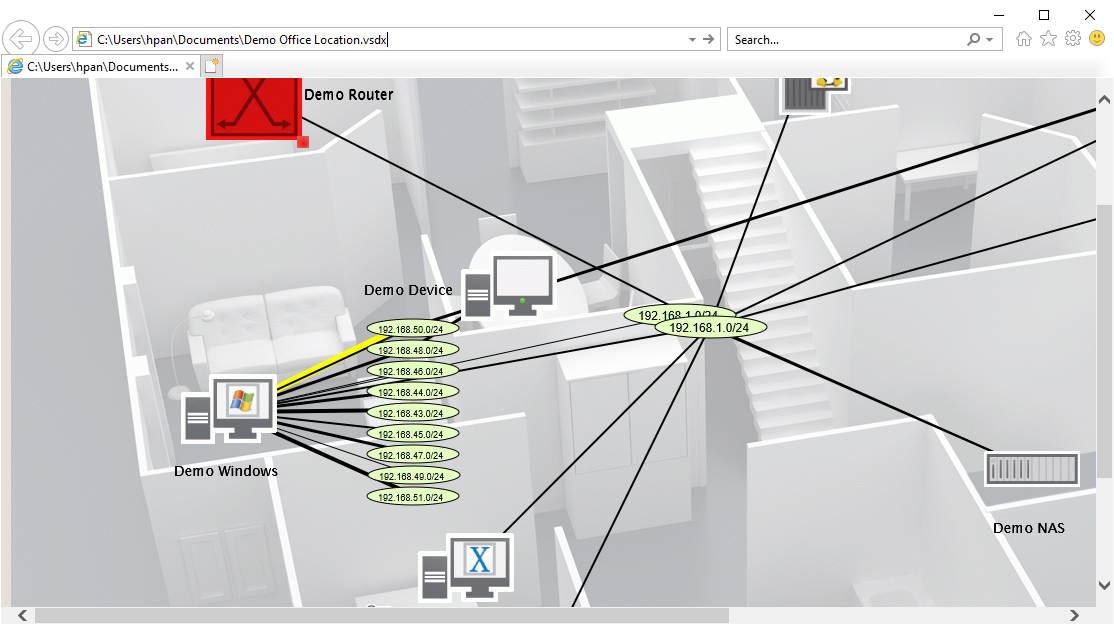 Intermapper 6.5 Layer 2 Mapping and export to Visio