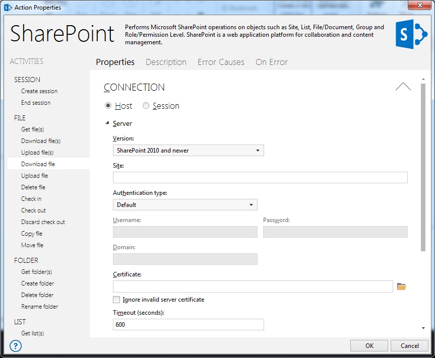 Automate SharePoint processes
