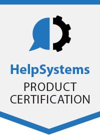 HelpSystems Product Certification