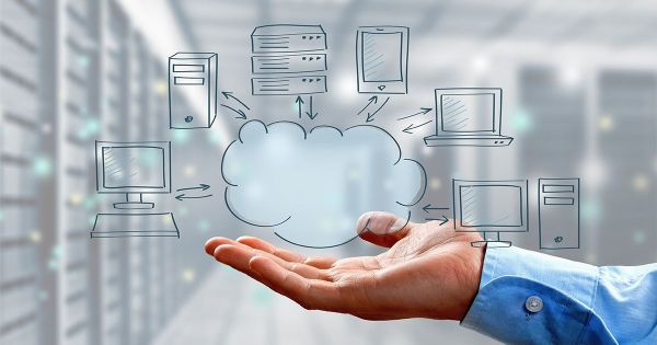 Cloud Infrastructure in a hand, cloud capacity planning