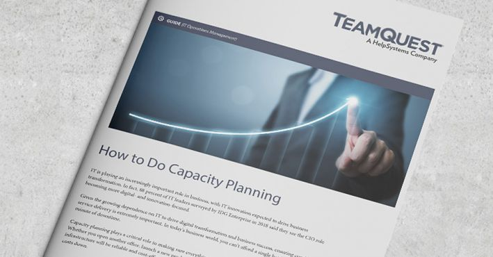 How to do capacity planning