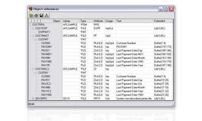See object relationships in your IBM i applications