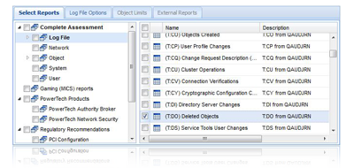 Save and report on audit journal data with compliance software