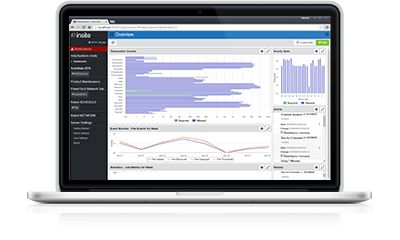 Get visibility into KPIs with Network Security's browser interface