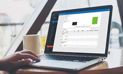Create custom dashboards in Robot Schedule