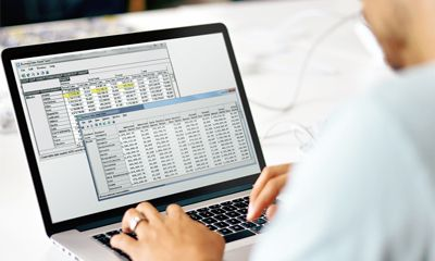 A business user pivots data in client tables and makes important business decisions faster