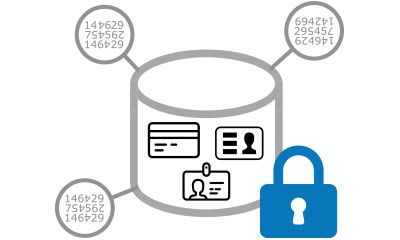 Powertech Encryption uses tokenization for sensitive data