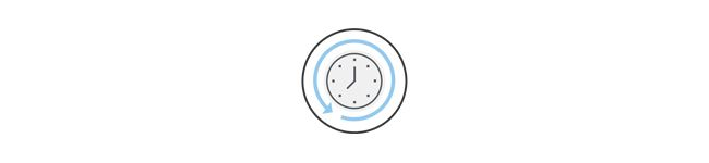 HelpSystems clock graphic