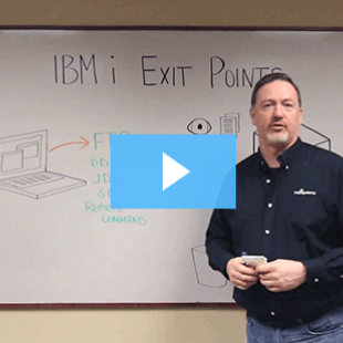 IBM i exit points make the greatest impact on security
