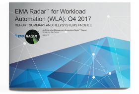 EMA Radar™ for Workload Automation