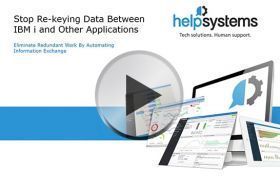 Stop Re-keying Data Between IBM i and Other Applications