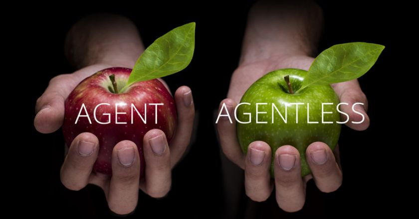 What is agent vs. agentless network monitoring software?